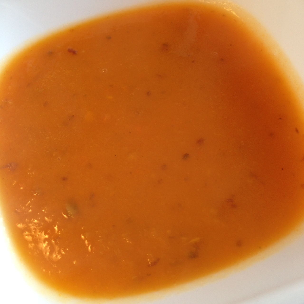 Sweet Potato Carrot Soup 1