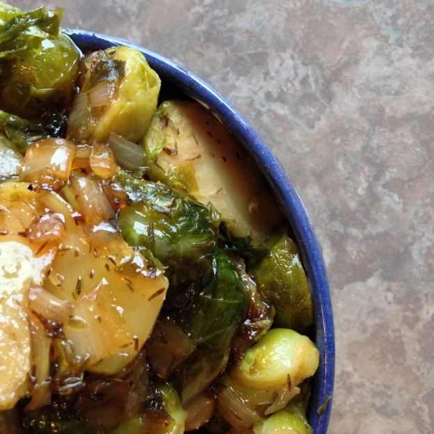 Maple Brussel Sprouts Feature